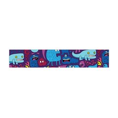Mo Monsters Mo Patterns Flano Scarf (Mini)