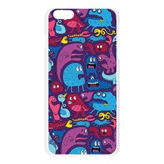 Mo Monsters Mo Patterns Apple Seamless iPhone 6 Plus/6S Plus Case (Transparent)