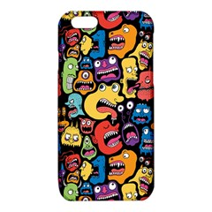 Monster Faces iPhone 6/6S TPU Case