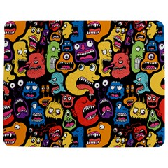 Monster Faces Jigsaw Puzzle Photo Stand (Rectangular)