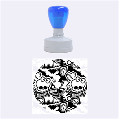 Monster High 03 Rubber Round Stamps (medium)