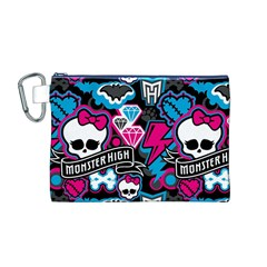 Monster High 03 Canvas Cosmetic Bag (M)