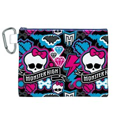 Monster High 03 Canvas Cosmetic Bag (XL)