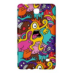 Monsters Pattern Samsung Galaxy Tab 4 (8 ) Hardshell Case