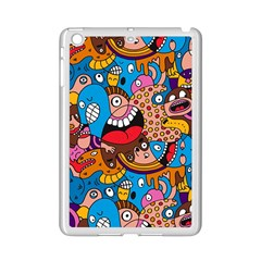 People Face Fun Cartoons Ipad Mini 2 Enamel Coated Cases