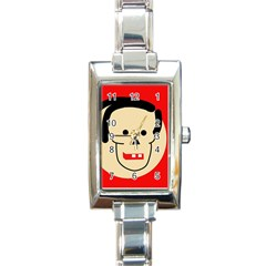 Face Rectangle Italian Charm Watch