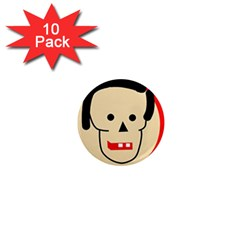 Face 1  Mini Magnet (10 pack)