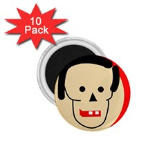 Face 1.75  Magnets (10 pack)