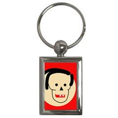 Face Key Chains (Rectangle)