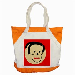 Face Accent Tote Bag