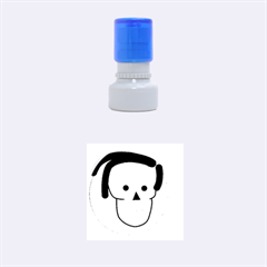 Face Rubber Round Stamps (Small)