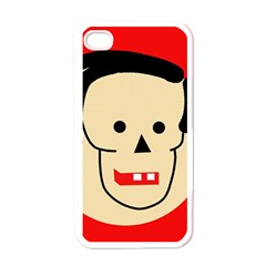 Face Apple iPhone 4 Case (White)