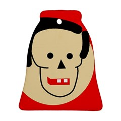 Face Bell Ornament (2 Sides)