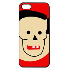 Face Apple iPhone 5 Seamless Case (Black)