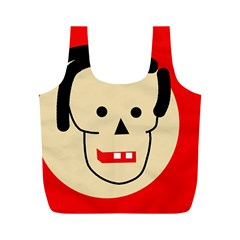 Face Full Print Recycle Bags (M)