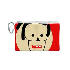 Face Canvas Cosmetic Bag (S)