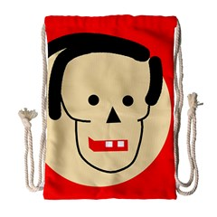 Face Drawstring Bag (Large)