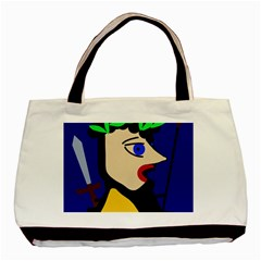 Warrior Basic Tote Bag (Two Sides)
