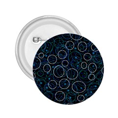 Blue abstract decor 2.25  Buttons
