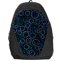 Blue abstract decor Backpack Bag
