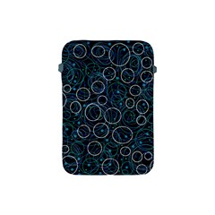 Blue abstract decor Apple iPad Mini Protective Soft Cases