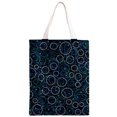 Blue abstract decor Classic Light Tote Bag