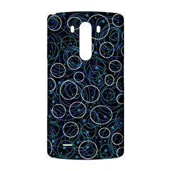Blue abstract decor LG G3 Back Case