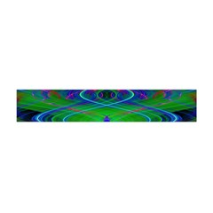 Neon Night Dance Party Flano Scarf (mini)