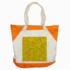 Yellow abstract art Accent Tote Bag