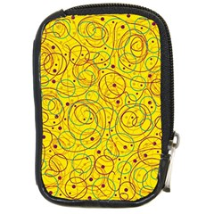 Yellow Abstract Art Compact Camera Cases