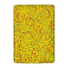 Yellow abstract art Kindle 4