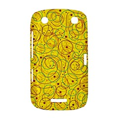 Yellow abstract art BlackBerry Curve 9380