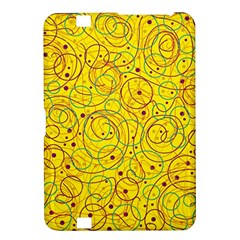 Yellow abstract art Kindle Fire HD 8.9