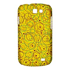 Yellow abstract art Samsung Galaxy Express I8730 Hardshell Case
