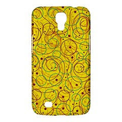 Yellow abstract art Samsung Galaxy Mega 6.3  I9200 Hardshell Case