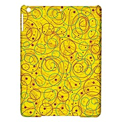Yellow abstract art iPad Air Hardshell Cases