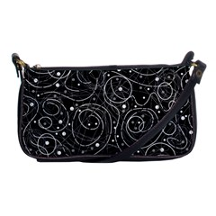 Black and white magic Shoulder Clutch Bags