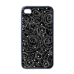 Black and white magic Apple iPhone 4 Case (Black)
