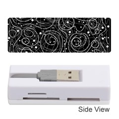Black and white magic Memory Card Reader (Stick)