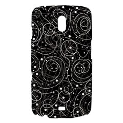 Black and white magic Samsung Galaxy Nexus i9250 Hardshell Case