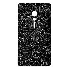 Black and white magic Sony Xperia ion