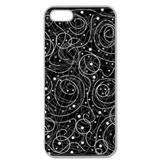 Black and white magic Apple Seamless iPhone 5 Case (Clear)