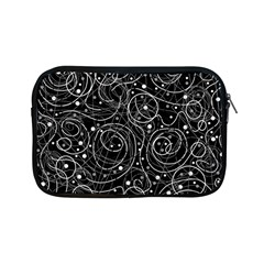 Black and white magic Apple iPad Mini Zipper Cases