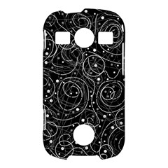 Black and white magic Samsung Galaxy S7710 Xcover 2 Hardshell Case