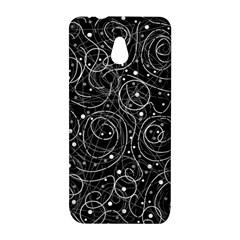 Black and white magic HTC One Mini (601e) M4 Hardshell Case