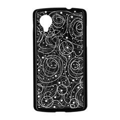 Black and white magic Nexus 5 Case (Black)