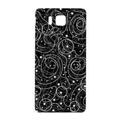 Black And White Magic Samsung Galaxy Alpha Hardshell Back Case