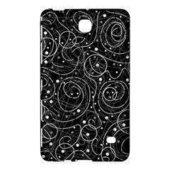 Black and white magic Samsung Galaxy Tab 4 (8 ) Hardshell Case