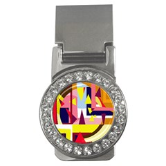 Colorful abstraction Money Clips (CZ)
