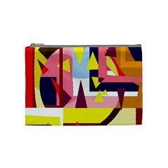 Colorful abstraction Cosmetic Bag (Medium)